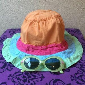 Gymboree Hat & Sunglasses